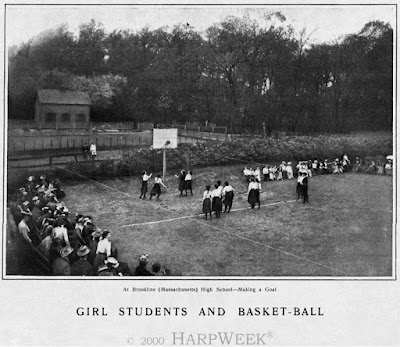 BHS Girls Basket Ball 1902