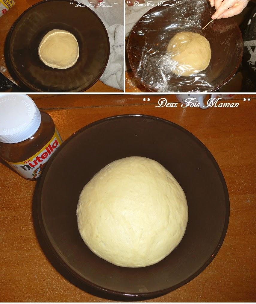 faire sa brioche au nutella