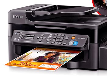 Epson WorkForce ET-4500 Driver Download