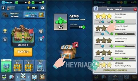 Cara Mendapatkan Gems Gratis Clash Royale