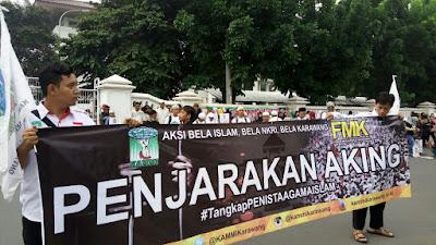 Berikut 4 Poin Pernyataan Sikap KAMMI Kabupaten Karawang Terhadap Kasus Aking Saputa,SH