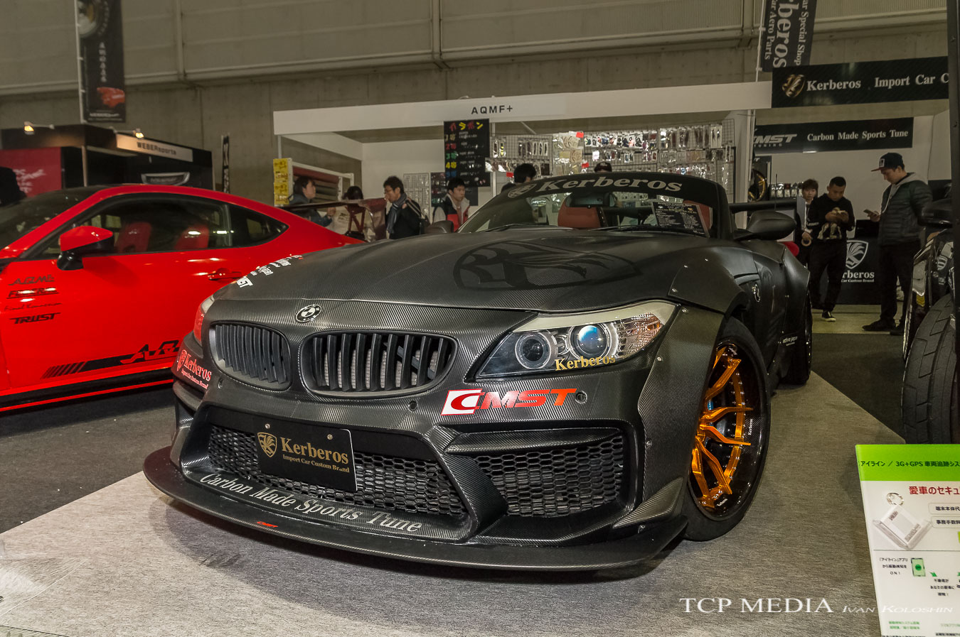 Aqmf bmw's of tokyo auto salon 2017 | motorflair