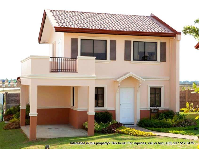 Camella Homes Camella Altea Elaisa House And Lot For