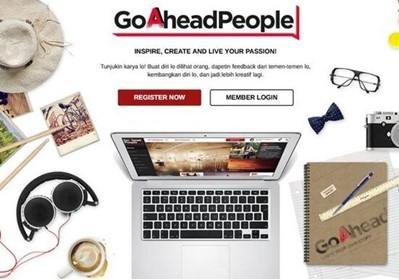 Belajar Desain Go Ahead People