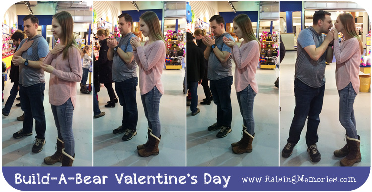 Build A Bear Heart Ceremony for Couples