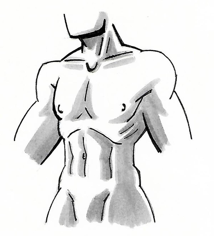 Lapiz y Bits: practicando anatomía