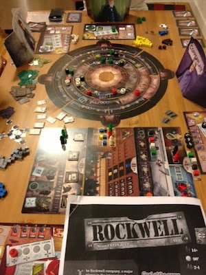 Rockwell game in play