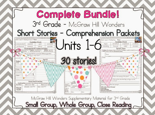 Unit 6 complete! and 4th grade materials :)