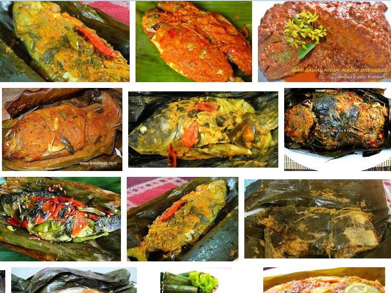 resep ikan bawal bumbu kuning
