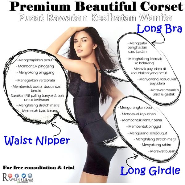 Premium Beautiful, Salah saiz bra, kesihatan payudara, cara kempiskan perut, permium beautiful murah, diskaun, Corset, byrawlins, Cara nak cantikkan payudara