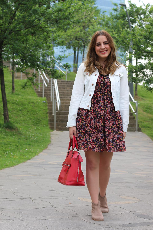 Outfit De Diario Con Vestido Para Primavera | Me Myself My Wardrobe | Bloguera Y Youtuber De ...