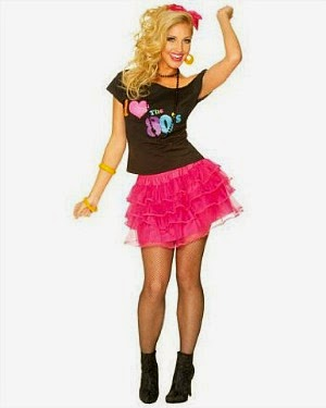 80s Tutu Costume for Women