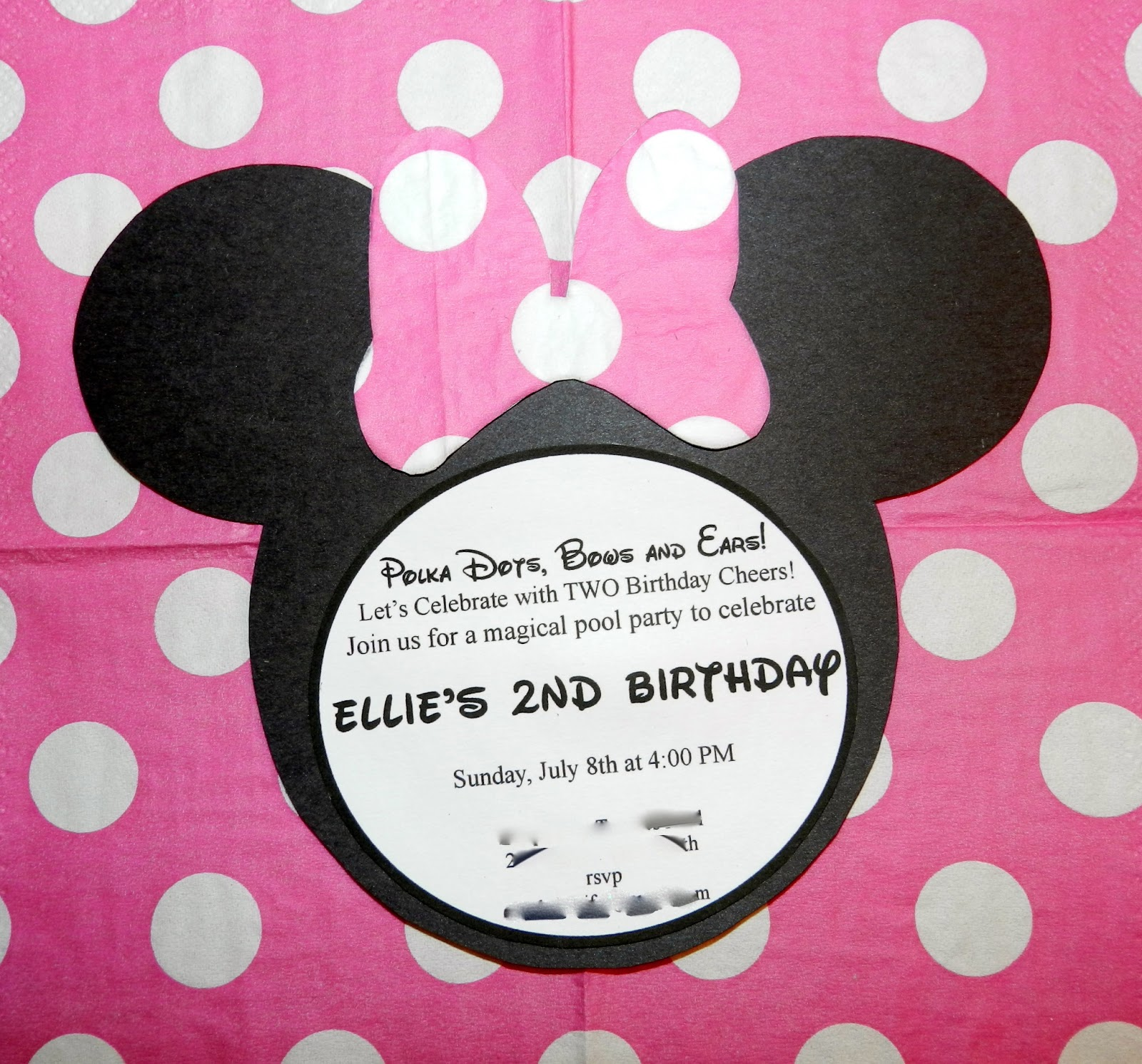 Minnie Mouse First Birthday Party Via Little Wish Parties: Addicted 2 Mickey: Minnie Mouse Themed Birthday Party