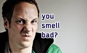 rimas dengan bau badan?