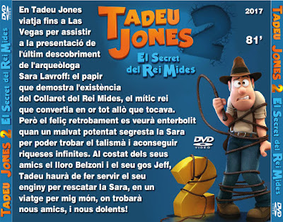 Tadeu Jones 2 - El Secret del Rei Mides - [2017]