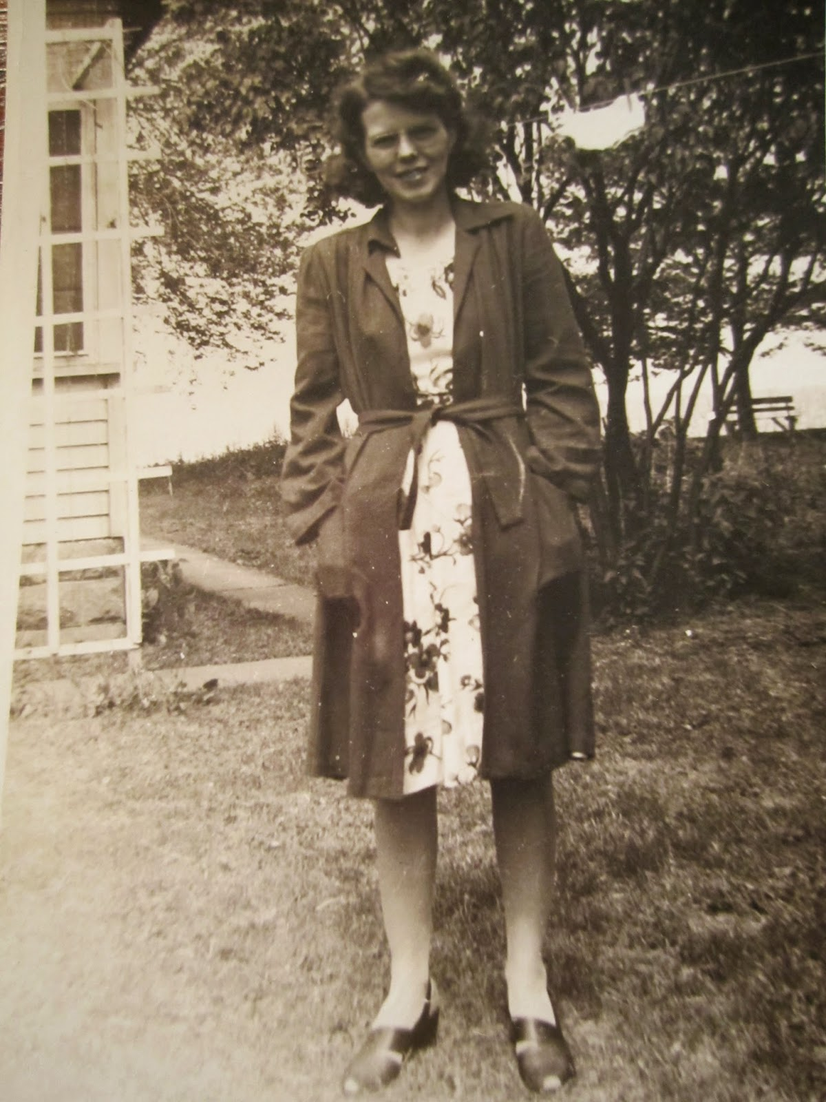 Climbing My Family Tree: Mabel Erwin Snyder - around 1942