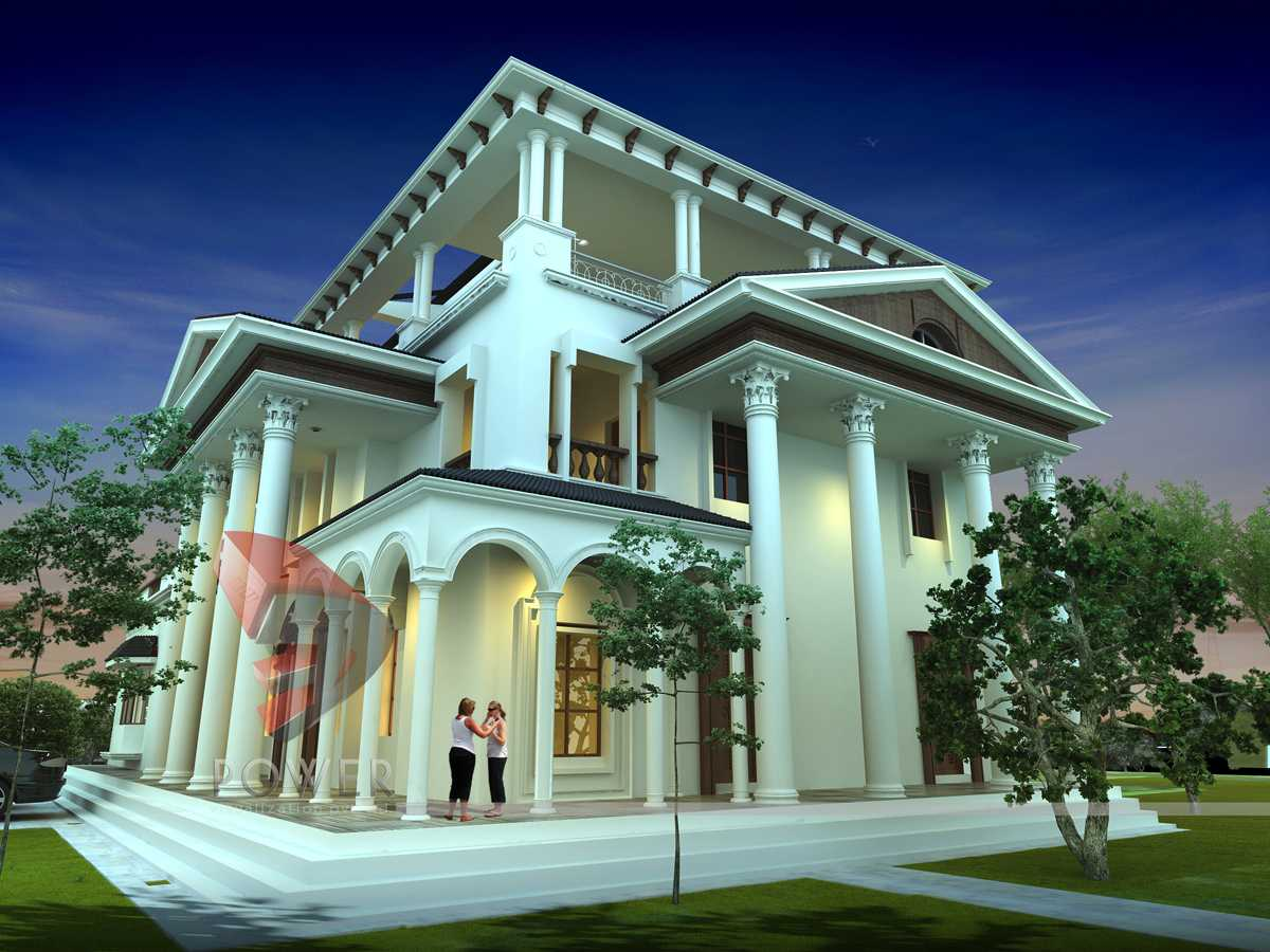Architecture Exterior: 3d Architectural Visualization