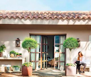 Дизайн-проекты. Дом мечты, окруженный природой в сельской местности Испании