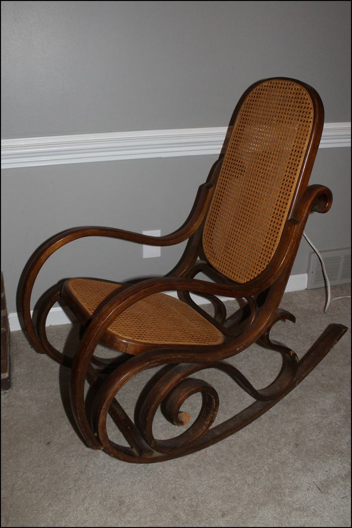 Phenomenal Sawdust Designs Bentwood Rocker Comes Back To Life Machost Co Dining Chair Design Ideas Machostcouk