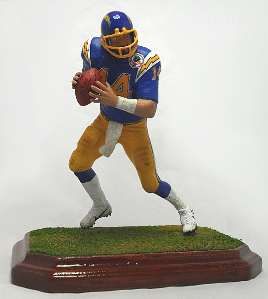 San Diego Chargers Dan Fouts: Sports Attic Customs: FINISHED