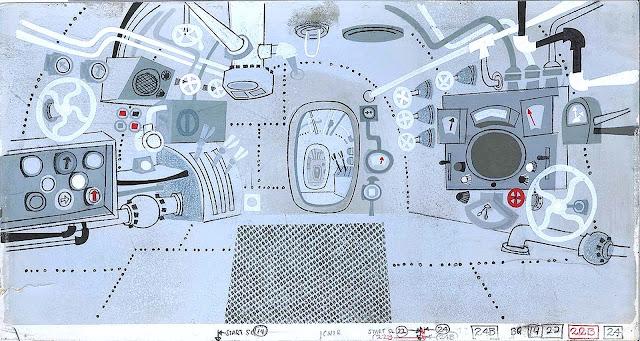UPA animation background