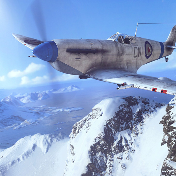 Battlefield V - Spitfire 4K Wallpaper Engine