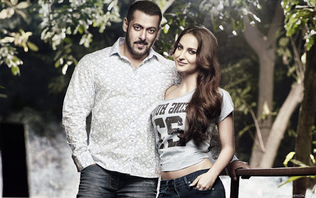Salman Khan And Elli Avram HD Images