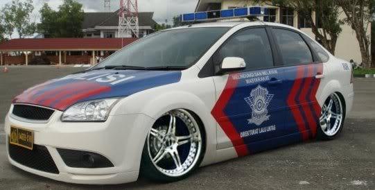 Monster Bego: Kontes Mobil Polisi Modifikasi Indonesia