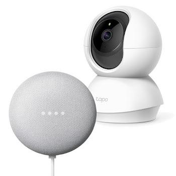 Google Nest Mini + TP-Link Tapo C200