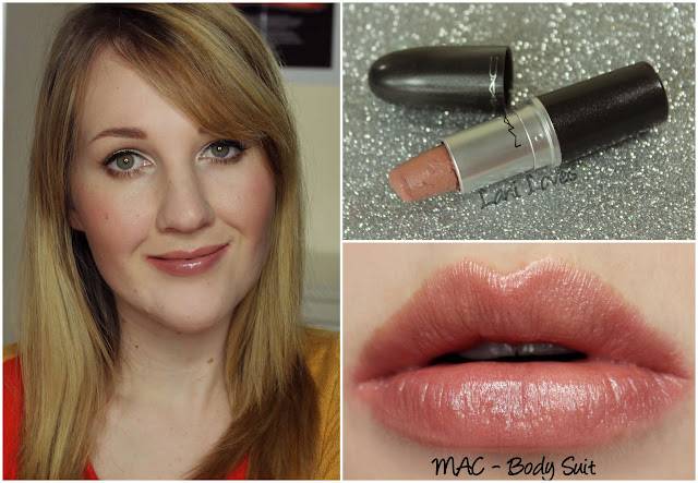 MAC Body Suit Lipstick swatch