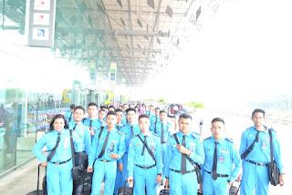 bergaya dulu lah sampai di terminal 1A Changi Airport