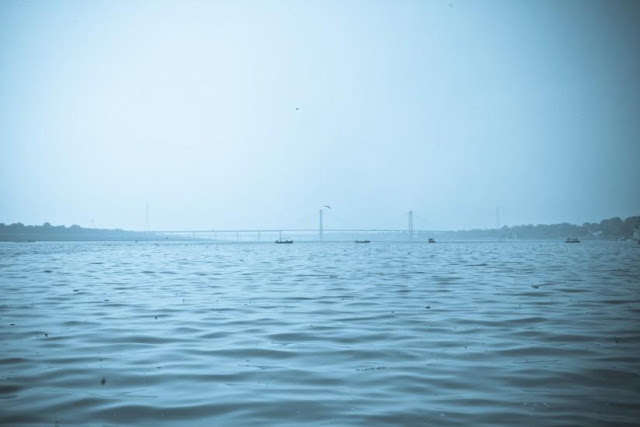 Allahabad ganga and Yamuna river wallpapers