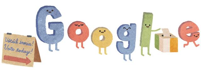 Ireland Elections 2016 - Google Doodle