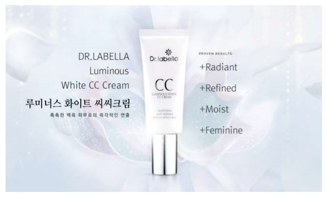 Dr. labella Intensive Whitening Program Luminous CC Cream, SPF 30/PA +++