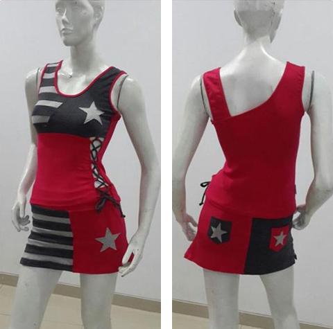 model baju senam sporty