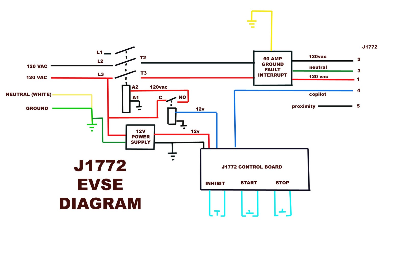 120 relay latching wiring diagram Images Gallery