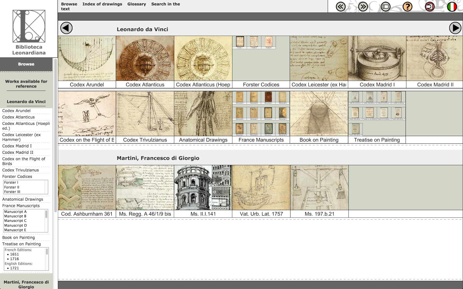 Leonardo da Vinci's diaries in their full digital glory