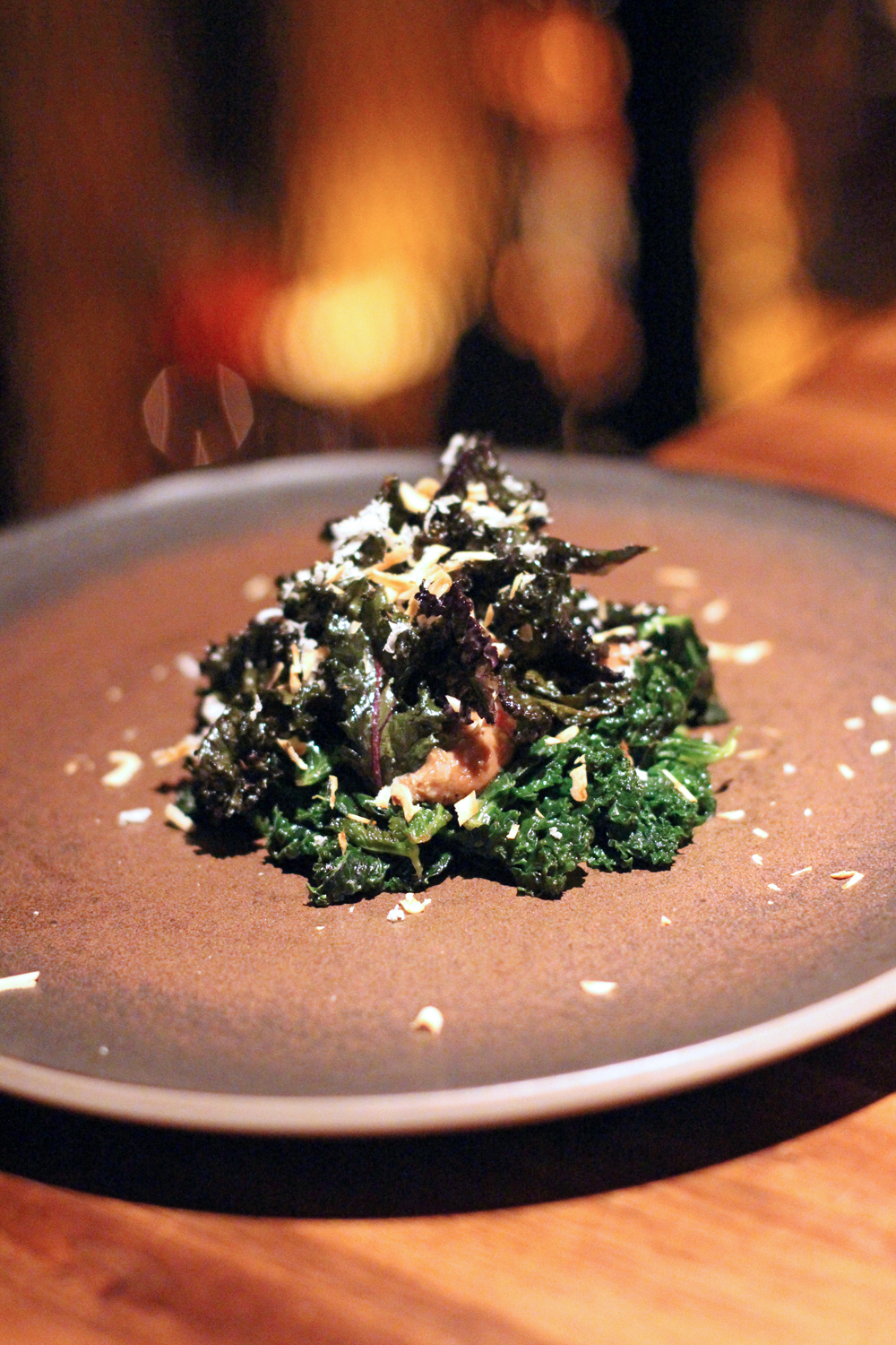 Kale dish at Restaurant Volt, Berlin - travel & lifestyle blog