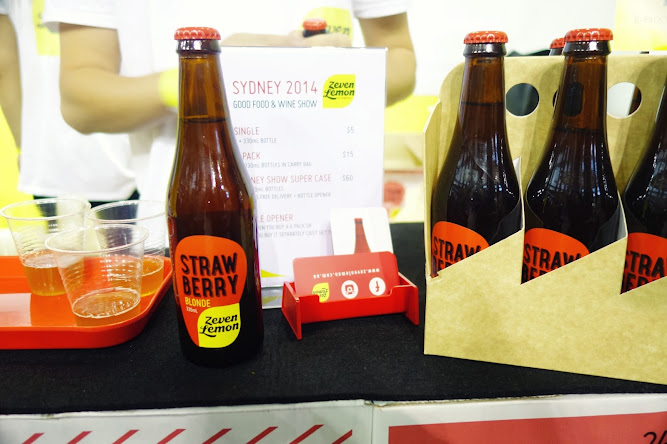 Zeven Lemon Beer Works Good Food and Wine Show 2014