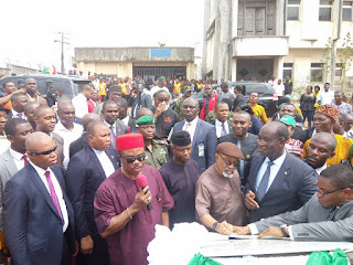 Image result for pictures of Gov Obiano and NURTW
