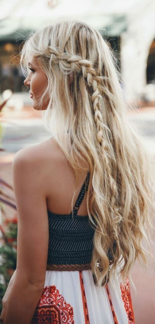 cute and messy beach hairstyles for summer