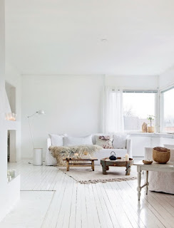 Escandinavo White Dream Home Na Noruega