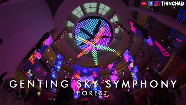 SkySymphony in SkyAvenue, Genting Highlands Light Show