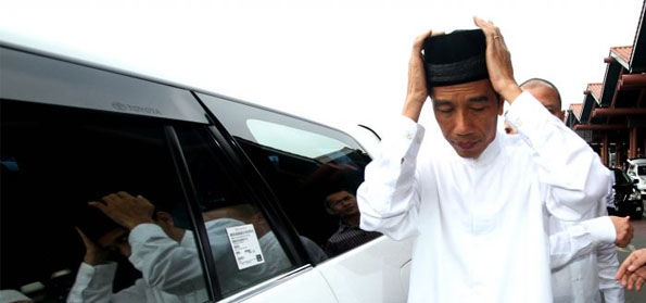 Dituduh Otoriter, Jokowi: Penampilan Saya Tidak Sangar, Selalu Tersenyum