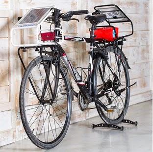 Il sistema Aurore su bici