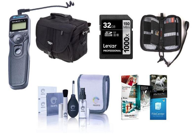 Набор дополнительных аксессуаров при покупке Canon EOS 6D