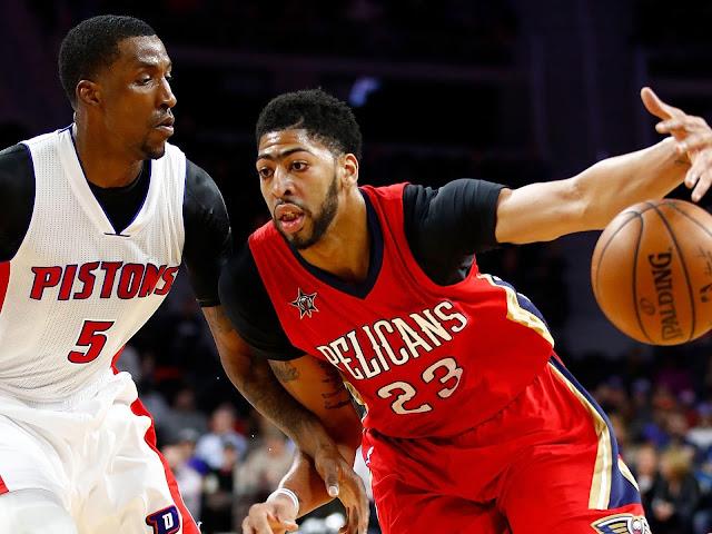 KCP résiste à Anthony Davis | PistonsFr, actualité des Detroit Pistons en France