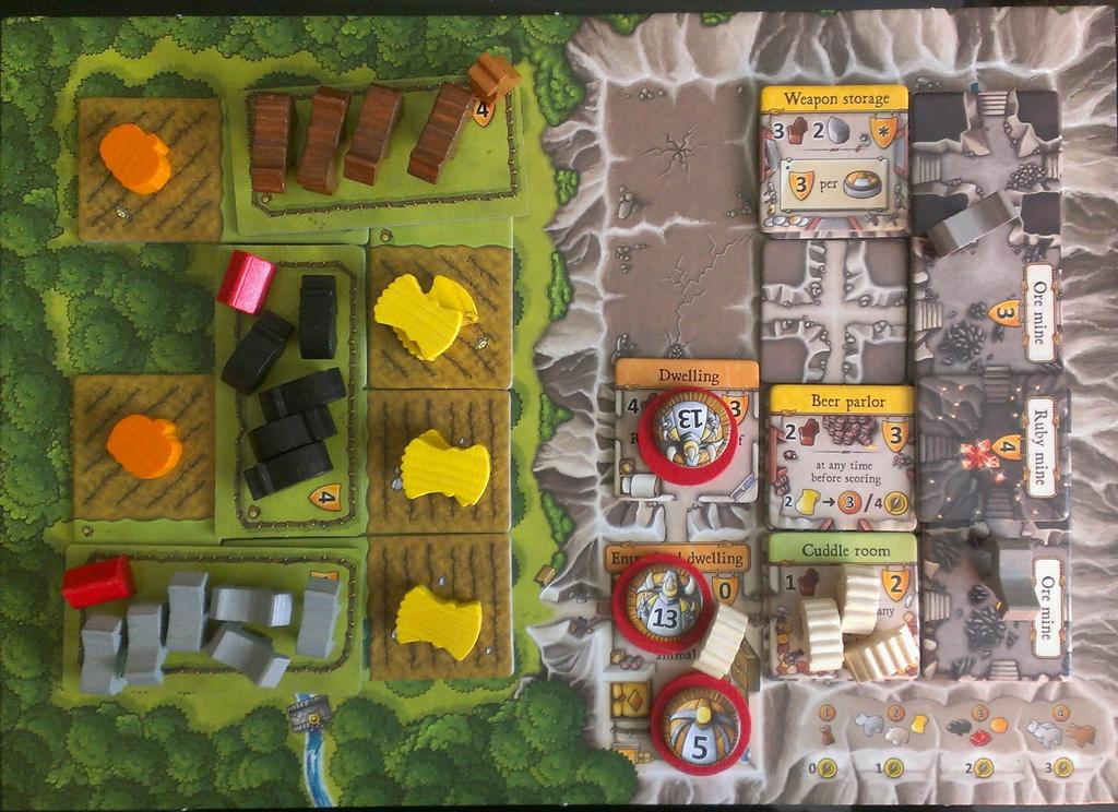 The Game Dork's Gaming Corner: Board Game Review: Caverna: The ...