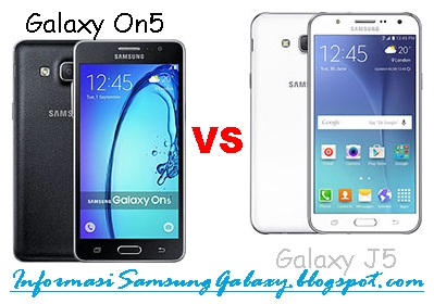 Harga dan Spesifikasi Samsung Galaxy On5 vs J5