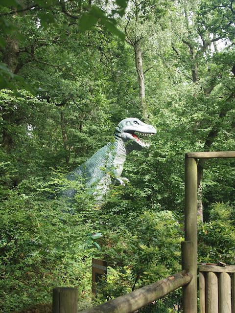 Dinosaurs at Paradise Wildlife Park in Hertfordshire